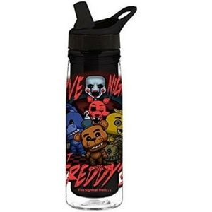 Water Bottle Five Nights At Freddy'S 20Oz Acrylic
